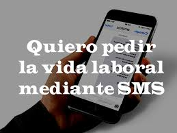informe vida laboral acotado por sms