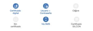 peticion de la vida laboral por sms